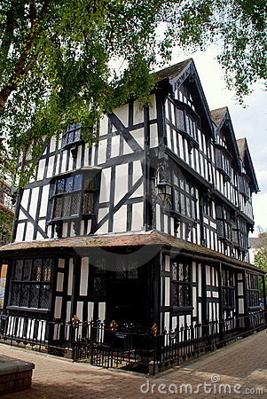 Hereford, England: 1621 Old House