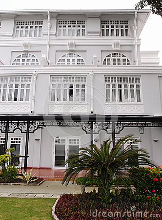 Heritage hotel, Penang, Malaysia