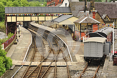 Heritage Rail station, Llangollen, Wales