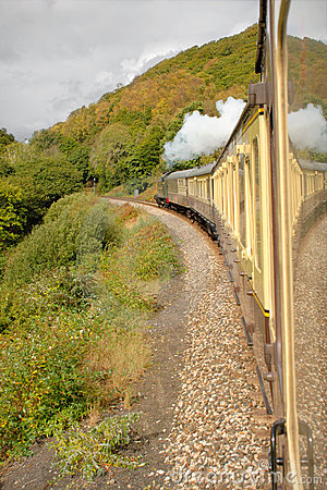Heritage Steam Train Devon England