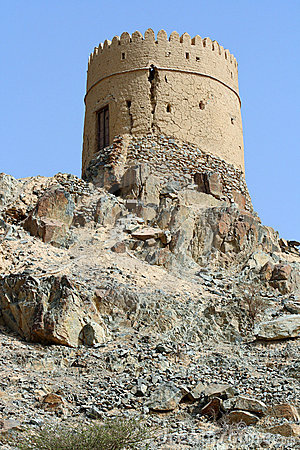 Heritage tower in Oman