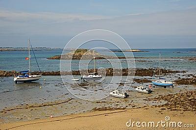 Herm Island, Guernsey Editorial Photo