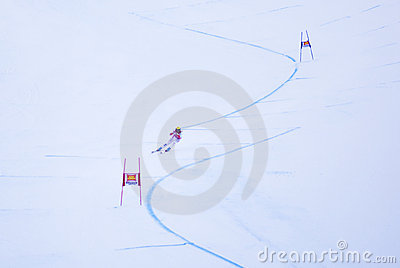 Hermann Maier - Fis World Cup Editorial Image