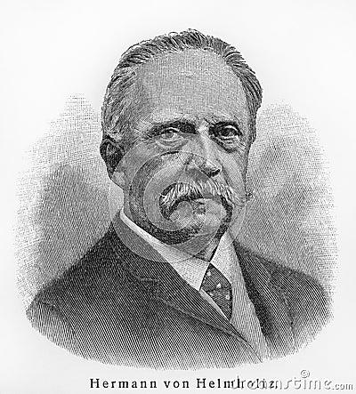 Hermann von Helmholtz Editorial Photography