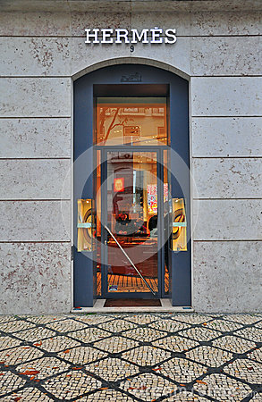 Hermes flagshop store Editorial Stock Photo