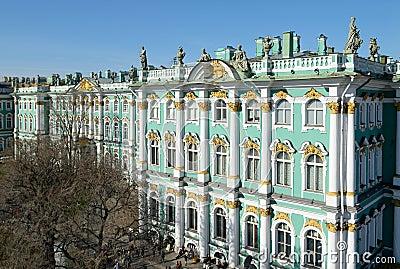 Hermitage Museum - St. Petersburg, Russia.