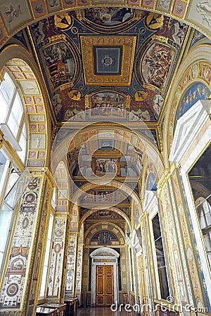 Hermitage museum (winter palace) st Petersburg Editorial Photo