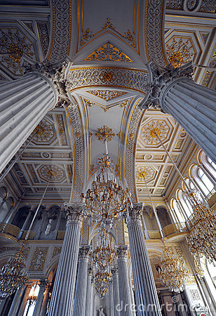 Hermitage museum (winter palace) st Petersburg Editorial Stock Photo