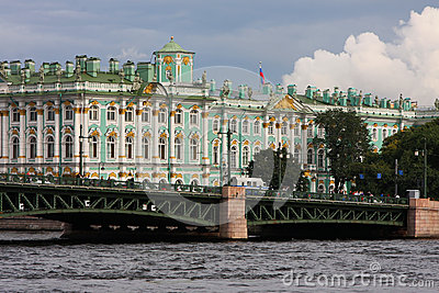 The Hermitage and Palace Bridge
