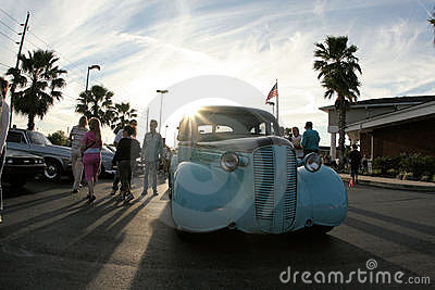 Hernando County Car Show Editorial Photo