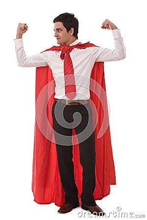 Free Hero Businessman Stock Photos - 7076663