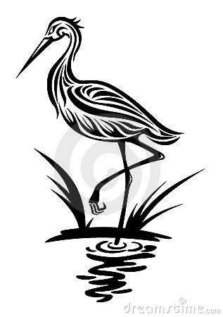 Free Heron Bird Royalty Free Stock Photography - 23669337