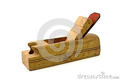 Herramienta vieja del carpintero