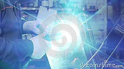 Herrero Holding Welding Machine para los detalles de soldadura metrajes