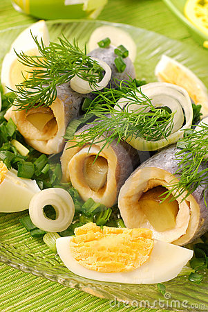 Free Herring Rolls Stock Images - 13213484