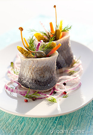 Free Herring Rolls Stock Photos - 23442633