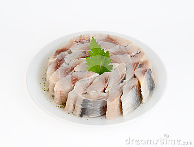 Herring salty