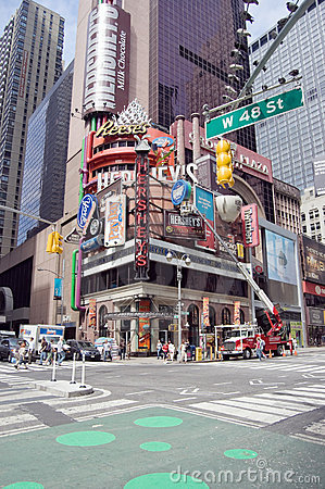 Hershey s Times Square Editorial Stock Photo