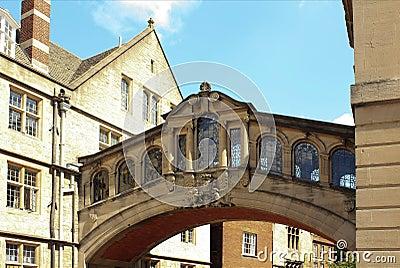 Hertford College, Bridge of Sighs, Oxford