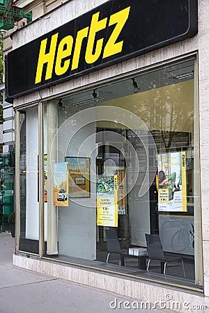 Hertz Editorial Stock Photo