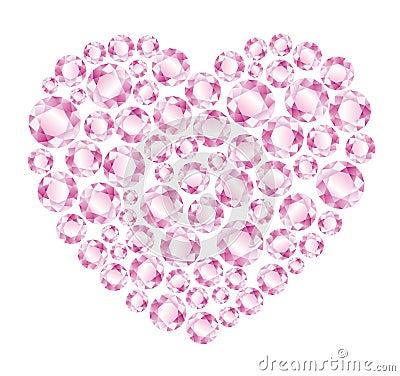 rosa diamanten vektorgrafik - photo #12