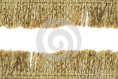 Hessian sack texture