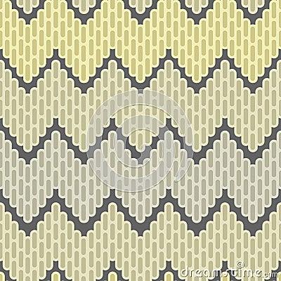 Het abstracte naadloze patroon van de zigzag