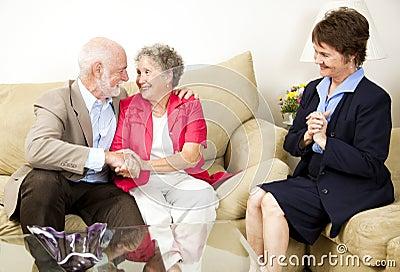 Het Adviseren van het huwelijk Succes