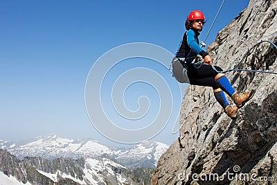 Het alpiene beklimmen
