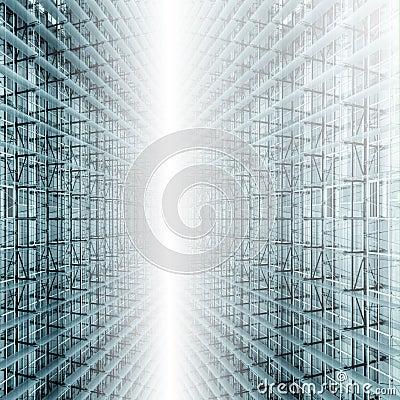 Het Atrium van het glas