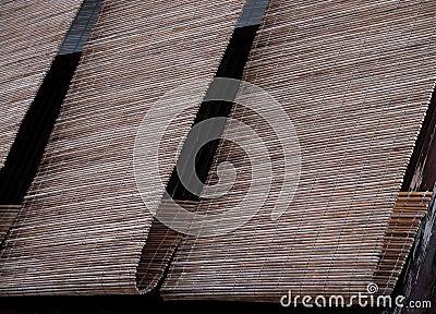 Het bamboezonneblinden van Gion