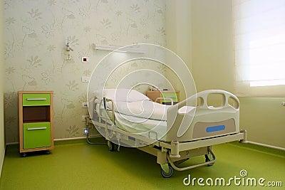 Het bed van het ziekenhuis
