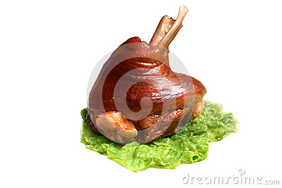 Het been van het varkensvlees