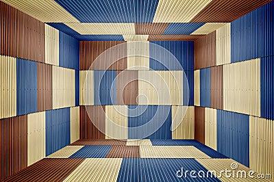 Het bladruimte van het metaal stock afbeeldingen afbeelding 19441104 - Grafiek blauw grijze verf ...