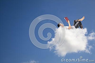 Het boek van de lezing op de wolk
