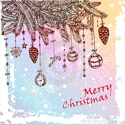 Het bontboom van Kerstmis