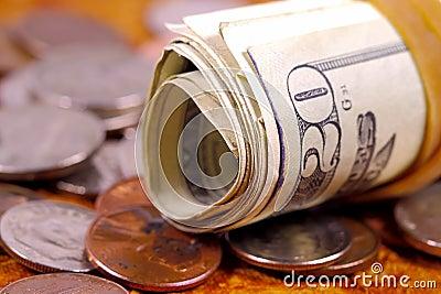Het Broodje van het geld