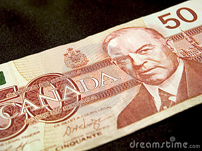 (Het Canadese) Bankbiljet van vijftig Dollar