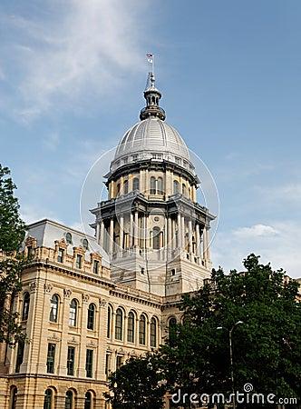 Het Capitool van de Staat van Illinois