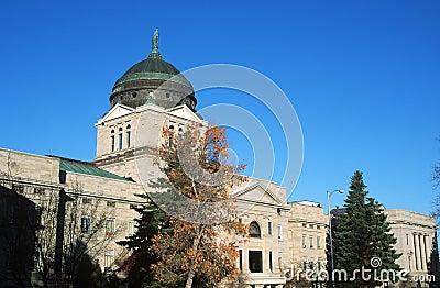 Het Capitool van de staat van Montana,