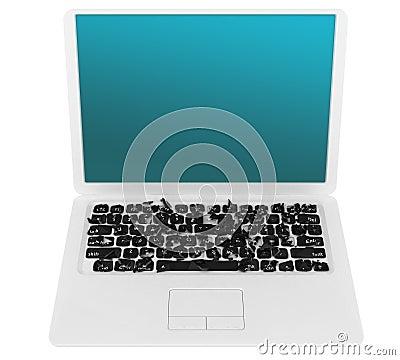 Het concept van de de taaldiversiteit van Internet