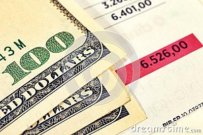 Het concept van financiën
