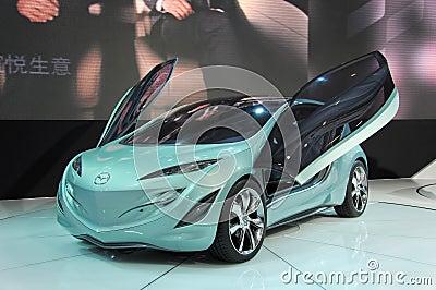 Het concept van Mazda Kiyora Redactionele Stock Foto