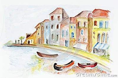 Het concept van Venetië