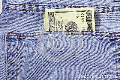 Het Contante geld van de zak