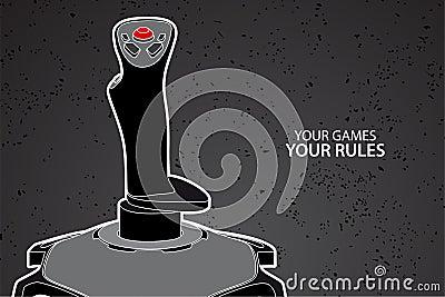 Het controlemechanisme van PC of van de console