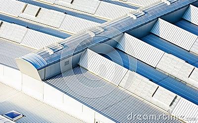 Het dak van de industrie