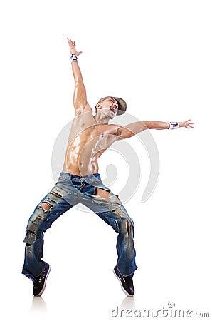Het dansen van de danser dansen