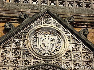 Het decoratieve steenwerk