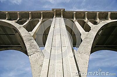 Het Detail van de Architectuur van de brug